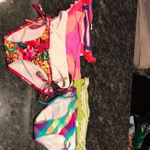 Lot of Swim bottoms. S and M.
